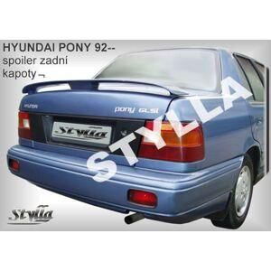 Stylla Spojler - Hyundai PONY SEDAN 1993-1994