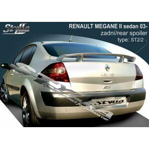 Stylla Spojler - Renault Megane  SEDAN 2002-2009