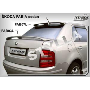 Stylla Spojler - Škoda Fabia SED. KRIDLO