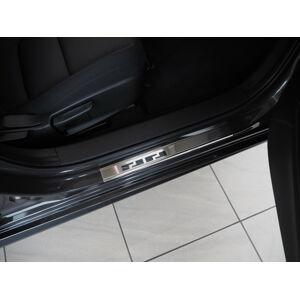 Alufrost Prahové lišty NEREZ - Mazda 3 IV 2019-