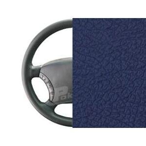 Kožený poťah na volant vel. XL - koža modrá - hladká